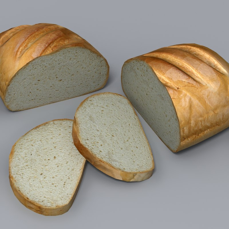 realistic sliced 3d model