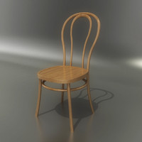3d thonet chair model