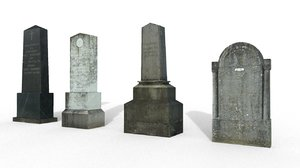 tombstone stone 3ds