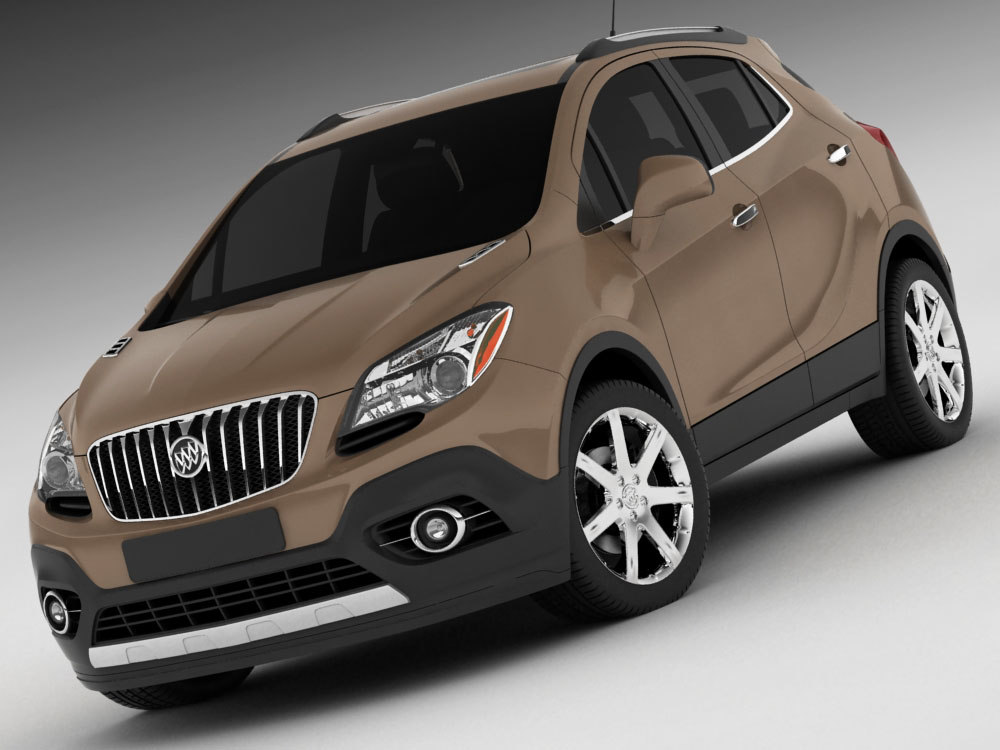 3d model buick encore