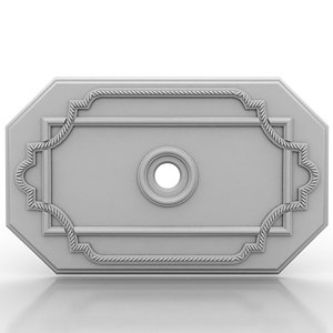 ceiling medallion 3d model