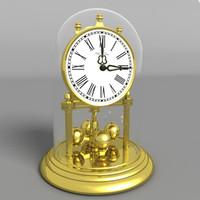 3d clock dome