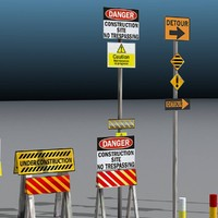 Traffic Signs Set B