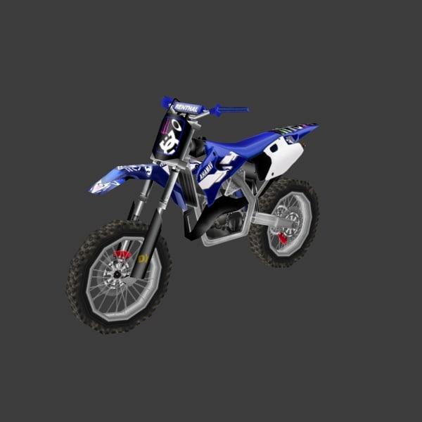 3d model dirt bike