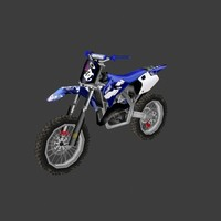 low poly dirt bike 03