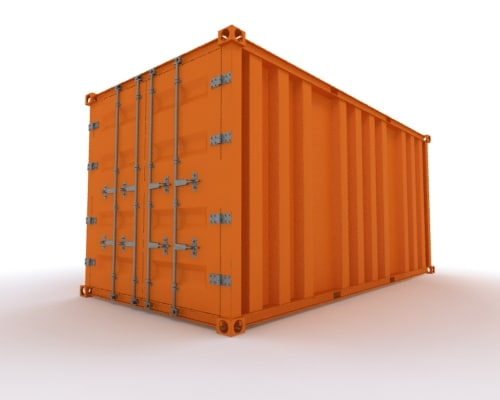 container freight 3d max