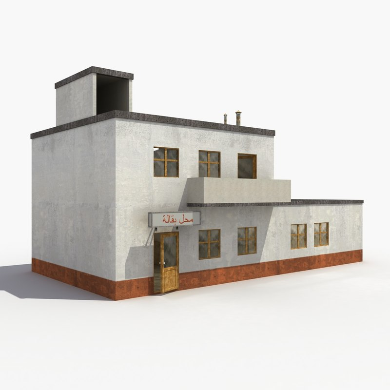 house 3d max