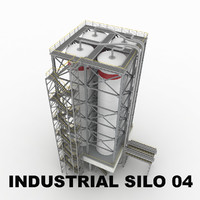 Industrial silo 04
