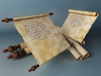 Parchment S rigged & animated