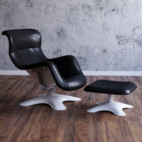 3d model karuselli swivel chair