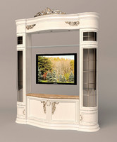 3ds max tv cabinet