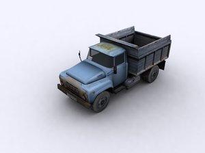 max ready truck ussr kraz
