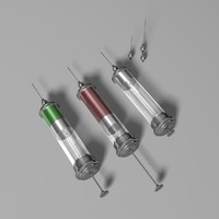 Medical Syringe Set