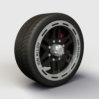 3d alloy ion 133 rims