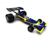 remote control f1 car 3ds