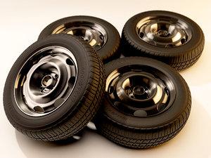 maya iron wheels