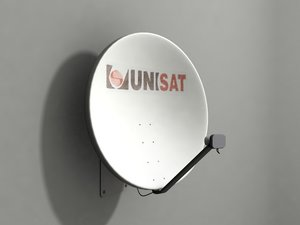 3d 3ds satellite dish