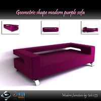 obj modern sofa