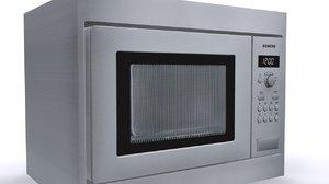 3d model siemens microwave 1