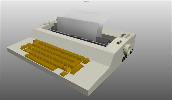 maya typewriters word processors