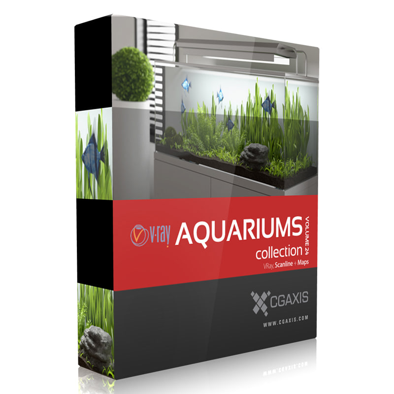 volume 24 aquariums 3d max