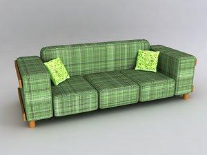 maya sofa wood couch