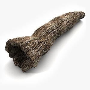 3d hollow trunk