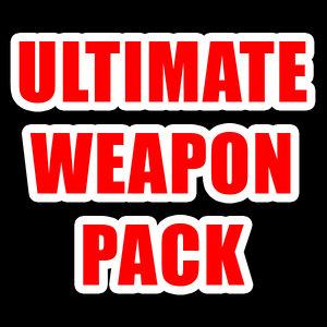 pack modern weapons 3d obj