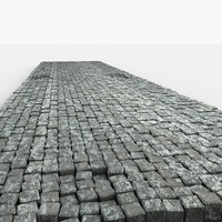 cobble stone block 3d model