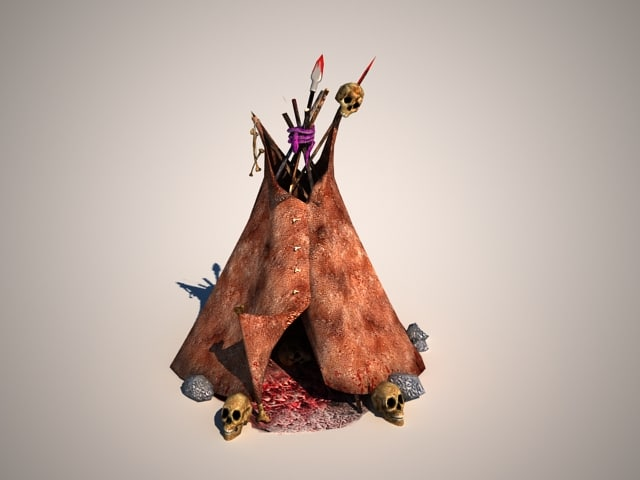 3d house shaman