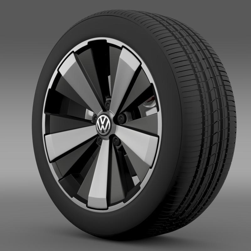 beetle turbo 2012 wheel 3ds
