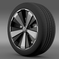 beetle turbo 2012 wheel 3ds