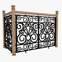 3ds max decorative wrought iron