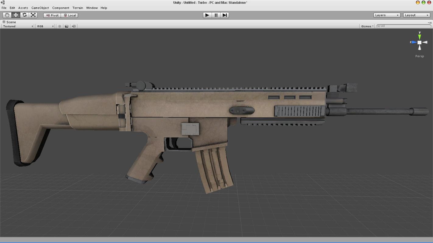 3d model scar-l ready