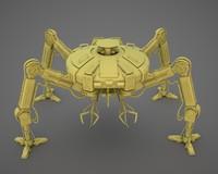 3d model of robot