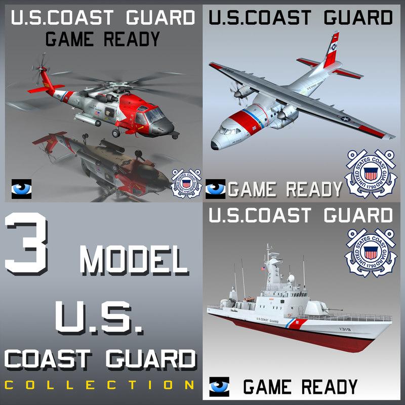 3ds max coast guard u s