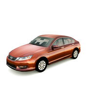 honda accord 2013 3d model