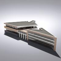 Modern Generic Building 023