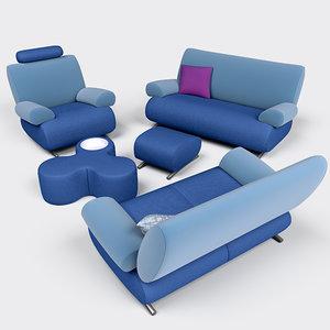 3ds max rom furniture set