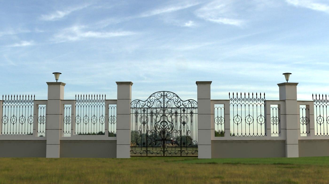 directx fence iron gate