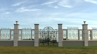 fence model iron gate