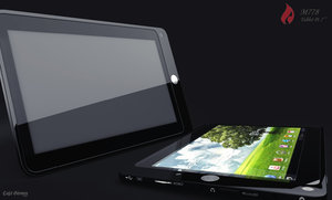 firebrand tablet pc 3d obj