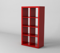 expedit materials ikea 3d model