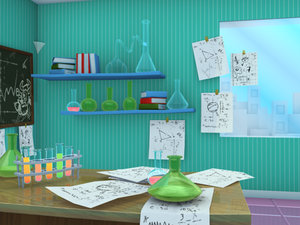 maya office experiments