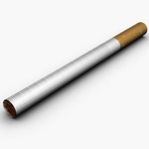 cigarette tobacco 3d max