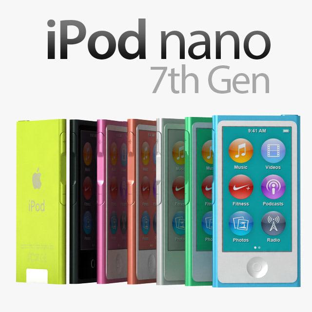 max apple ipod nano 7th