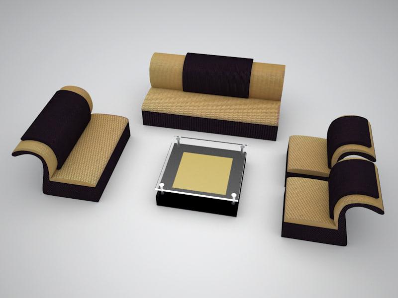 table sofa