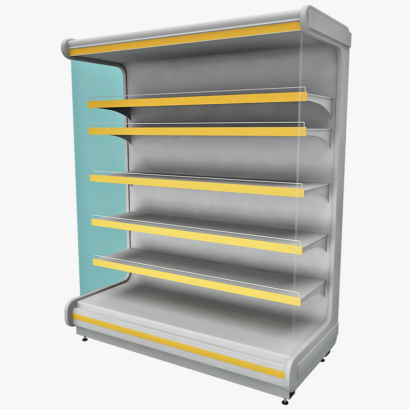3ds max supermarket shelf v2