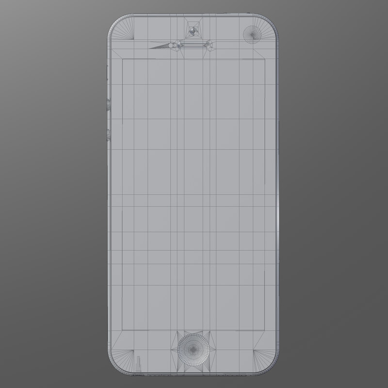 3d model of iphone