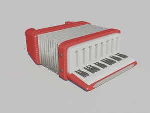3d model accordion